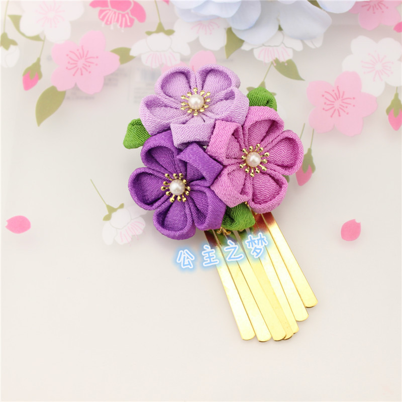 Handmade Borla Kimono Yukata Sakura HW005-M
