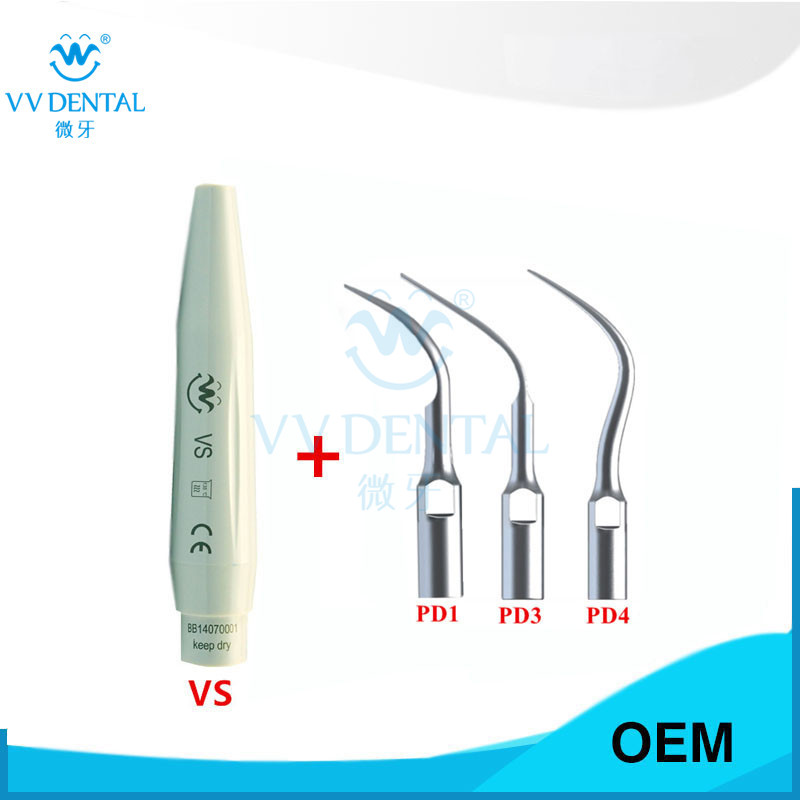 Dental Scaling PERIO Tips and scaler handpiece for Satelec DTE Ultrasonic Scaler Handpiece Teeth Whitening 1pcs scaler handpiece vwd for dte dental scaler handpiece unit dental care dental equipment dental page 2