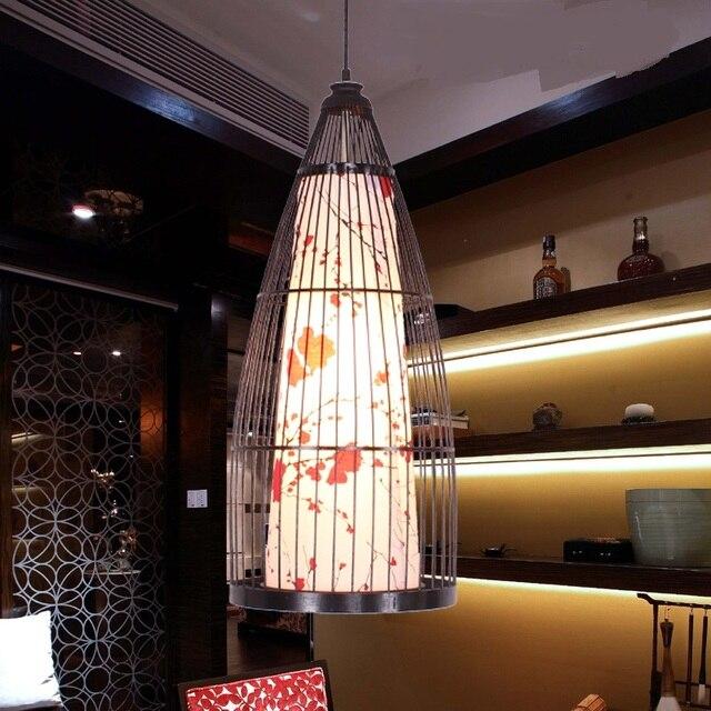 Modernen Chinesischen bambus Pendelleuchten lampe südost esszimmer ...