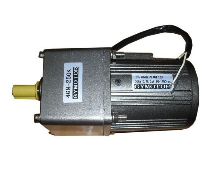 цена на AC 380V 40W Three phase gear motor, with gearbox. AC gear motor,