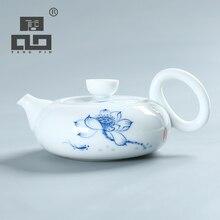 Tangpin 2017 nueva llegada tetera de kung fu té tetera olla de café de cerámica pintada a mano