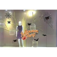 wall sticker fashionable halloween decorations shopping mall bar ktv static window glass pasteb 17a11