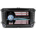 2 din VW rádio dvd player do carro vw passat b6 golf polo 5 vw golf 4 touran sharan t5 caddy com GPS navigator direcção-roda