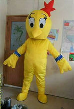Yellow Chicken Mascot Costume Suits Cosplay Party Game Dress Outfits Advertising Carnival Halloween Xmas Easter Festival Adults