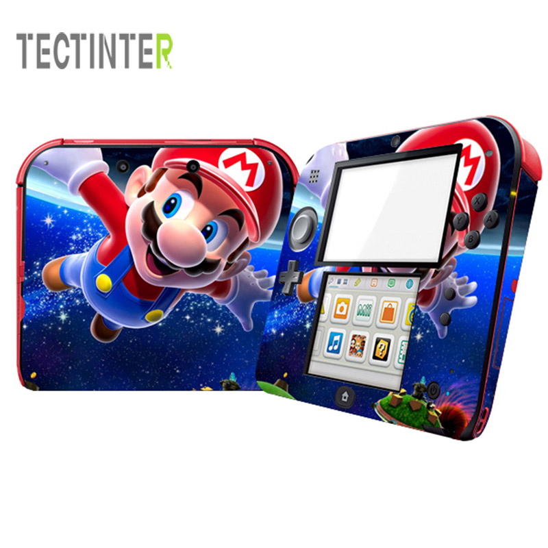 For Nintend 2DS Vinyl Skin For 2DS Console Stickers Skin Cartoon Decal CoverFor Nintend 2DS Vinyl Skin For 2DS Console Stickers Skin Cartoon Decal Cover