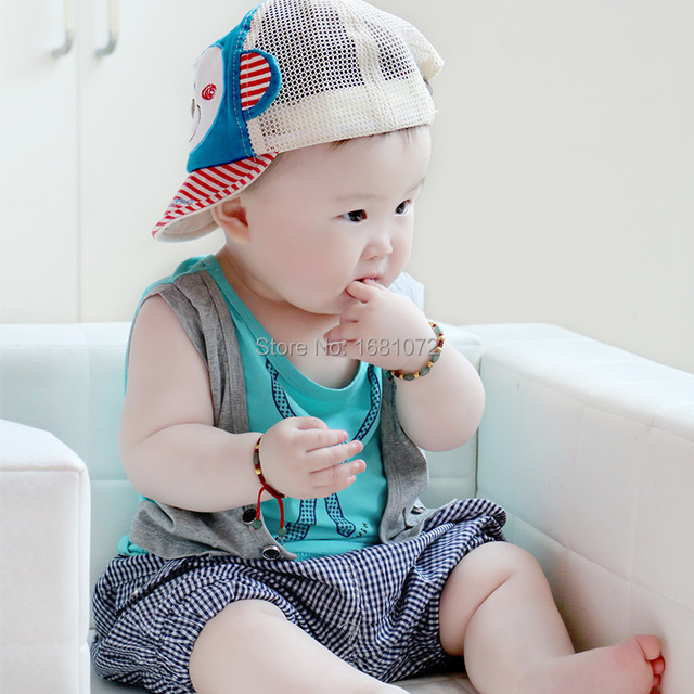7acc2b013 6 - 12 months old infant clothes summer 0-1 year old baby boy set 1 - 2  years old children's clothing baby clothes