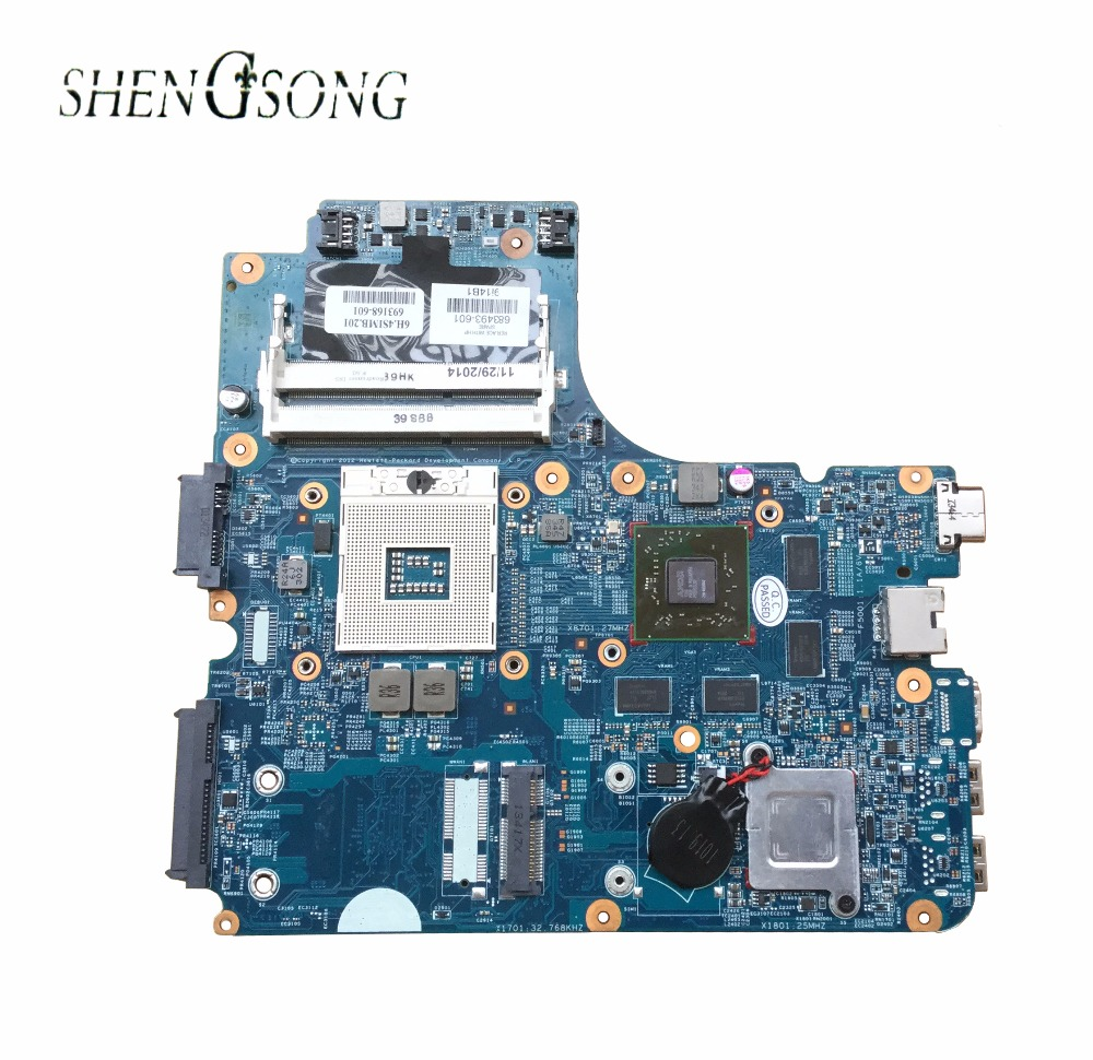 683493-001 Free shipping For HP 4440s 4441s 4740s 4540s motherboard HM76 683493-501 HD7650M 1GB laptop motherboard fully tested недорого