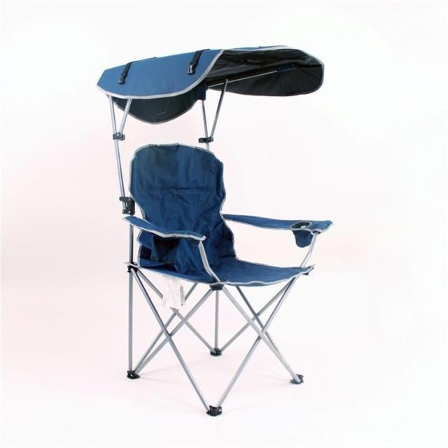 New 2015, Heavy Duty Folding Camping Chair, Fishing Chair With Sunshade For  Fishing Festival