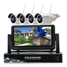 1080P waterproor Video Surveillance System 4CH CCTV Security Kit 2.0MP Outdoor Security Camera CCTV NVR Surveillance CCTV KIT