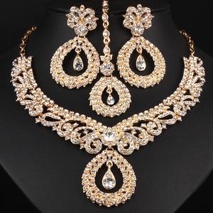 FARLENA Jewelry Clear Crystal