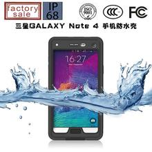 Note 4 Waterproof Case, red pepper Skiing fishing water proof case For Samsung Galaxy Note4 N9100 + Freeshipping