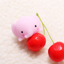 Squeeze Pig Dog New Pink Animal Cute Healing Toy Kawaii Collection Stress Reliever Gift Decoration Children Adult Anti