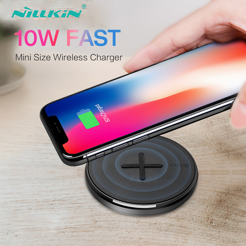 10w Wireless Charger NILLKIN For iPhone Xr X Xs 8 Qi Fast Wireless Charging On For Samsung S9 S10 S8 Plus Huawei P30 Xiaomi Mi 910w Wireless Charger NILLKIN For iPhone Xr X Xs 8 Qi Fast Wireless Charging On For Samsung S9 S10 S8 Plus Huawei P30 Xiaomi Mi 9