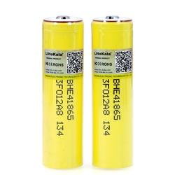 4-40PCS 2019 Liitokala Original HE4 2500mAh Li-lon Battery 18650 3.7V Power Rechargeable batteries Max 20A,35A+DIY Point cap