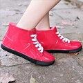 Designer de moda Nova Chegada Mulheres À Prova D' Água Sapatos De Borracha Botas de Chuva Sapatos de Água Primavera Verão Botas Femininas