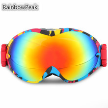 New ski goggles Snowboarding Double anti-fog Mountaineering climbing goggles Large spherical snow glasses Skiing Eyewear