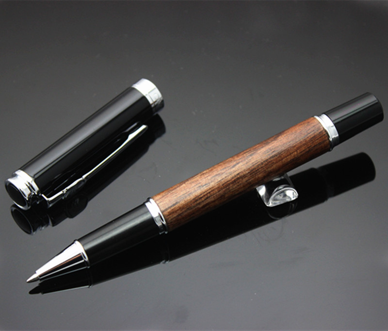 Luxury Metal Ball Point Pen jinhao wood Roller Ball Pens For Business Writing Office School Supplies Student gift Pens