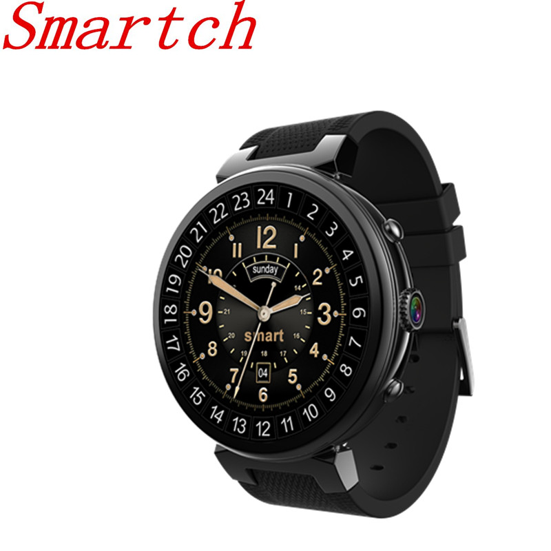 Smartch Smart Watch I6 RAM 2GB ROM 16GB Android 5.1 3G WIFI GPS Google Play Heart Rate Monitor for Android IOS Phone Smartwatch betreasure bluetooth os5 1 android smartwatch heart rate monitor smart watch gps 3g wifi fitness men watch for android ios phone