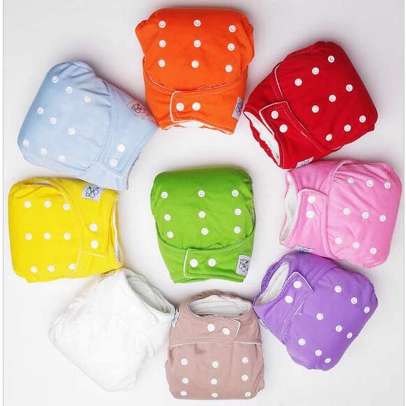Baby Infant Nappy cloth diaper Soft Covers Washable Adjustable Fraldas Winter Summer Version cloth diapers WS2158 ZT