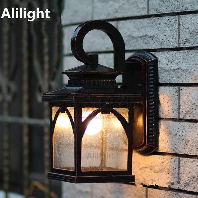 Wandleuchte Vintage Aussenbeleuchtung Garten Veranda Lichter