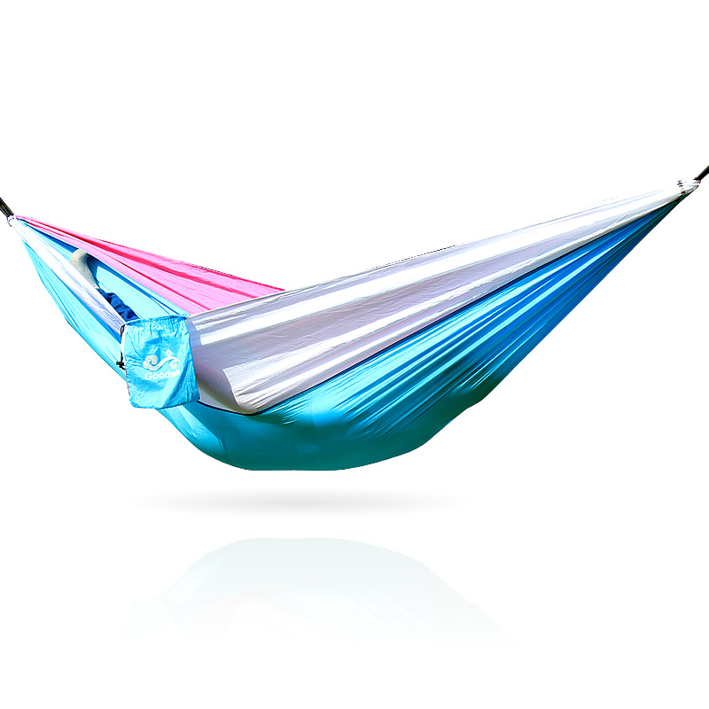 Blue White Pink Swing Outdoor Parachute Hammock Swing Bed Rede Camping цена 2017