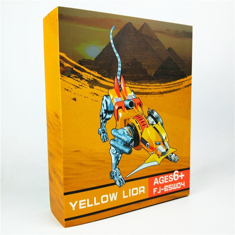 Voltron Super alliage âme bête roi jaune GoLion métal Transformation Robot figurine jouet cadeau de noël pour les enfants