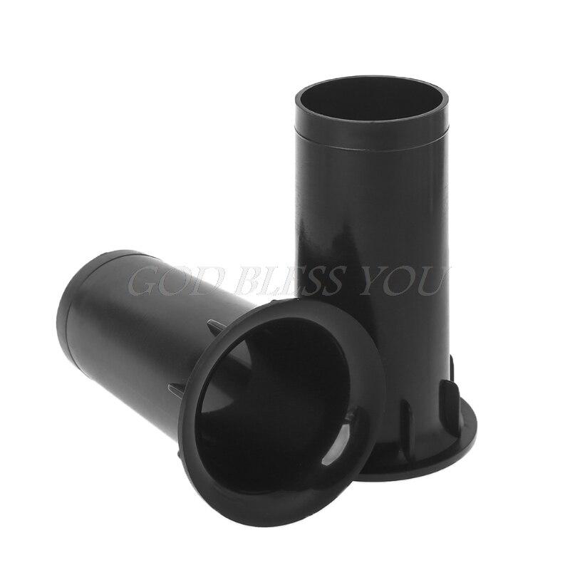 1 Pair Speaker Port Tube  Bass Reflex Tube Plastic Air Port Tube Speaker Vent Accessories Manufacturer