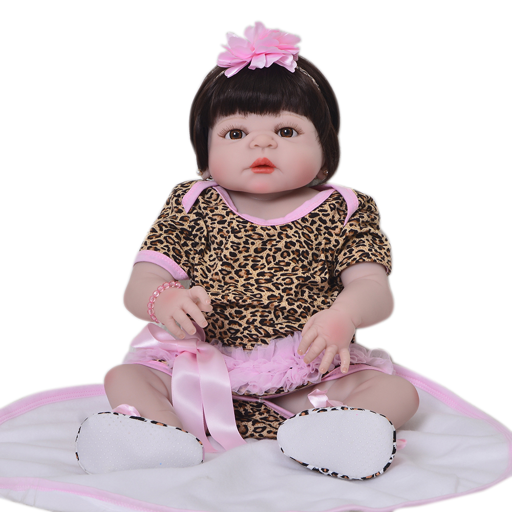 Bebes reborn girl doll reborn 22 Full silicone vinyl body children play house toys bebe gift boneca rebornBebes reborn girl doll reborn 22 Full silicone vinyl body children play house toys bebe gift boneca reborn