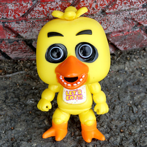 Image 5 - 5 יח\סט חמישה לילות פרדי של FNAF צעצועי PVC פעולה איור 5 Fazbear דגם בובת סיוט Funtime פוקסי בוני פרדי Chica