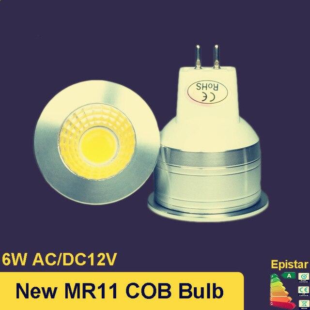 2017 New 6W MR11 Shock GU4 LED Lamp White Warm White Light Energy Saving LED  Lighting Free Shipping Ultra Bright