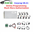 2016 Best Online Version V8.21 Carprog V9.31 Full Adapters Car Prog Programmer For Airbag/Radio/Dash/IMMO/ECU Auto Repair Tool