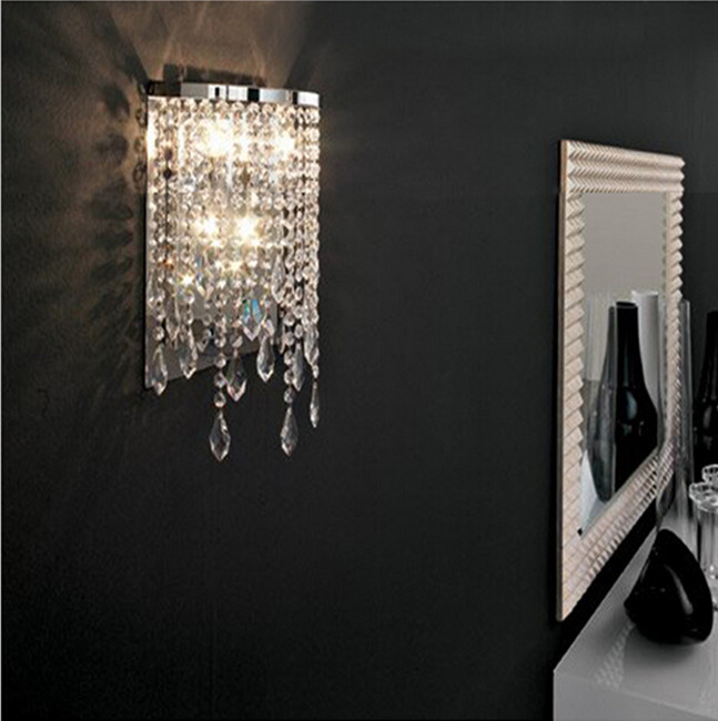 modern crystal wall light mirror lights contemporary wall lamps bathroom led wall lamp LED lamp makeup wall sconces for bedroom modern crystal led wall lamp star wall light bedside lamp wall sconces bathroom fixture lamp set corridor aisile ceiling lamp