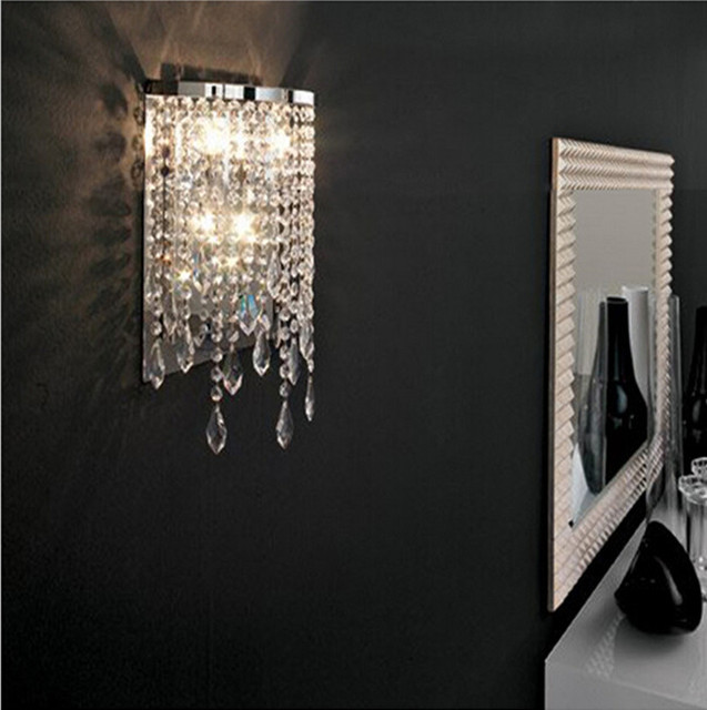 Modern crystal wall light mirror lights contemporary wall lamps bathroom led wall lamp led lamp makeup wall sconces for bedroom in led indoor wall modern crystal wall light mirror lights contemporary wall lamps bathroom led wall lamp led lamp makeup aload Image collections