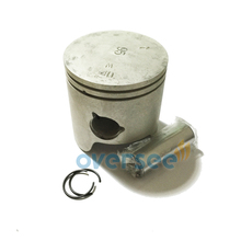 6K5-11631-03-00 Piston Set STD for Yamaha Powertec Parsun 60HP outboard engine boat motor brand new aftermarket part
