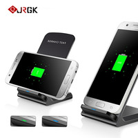 JRGK 10W Fast Charging Wirless Charging Desk Stand For Iphone 8 8 Plus X Samsung S8