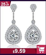 """jewelora в форме сердца ожерелье эго дизайнер цирконий инкрустация прекрасный """"любовь"""" стерлингового серебра 925 ожерелье и подвески #pe101017"""