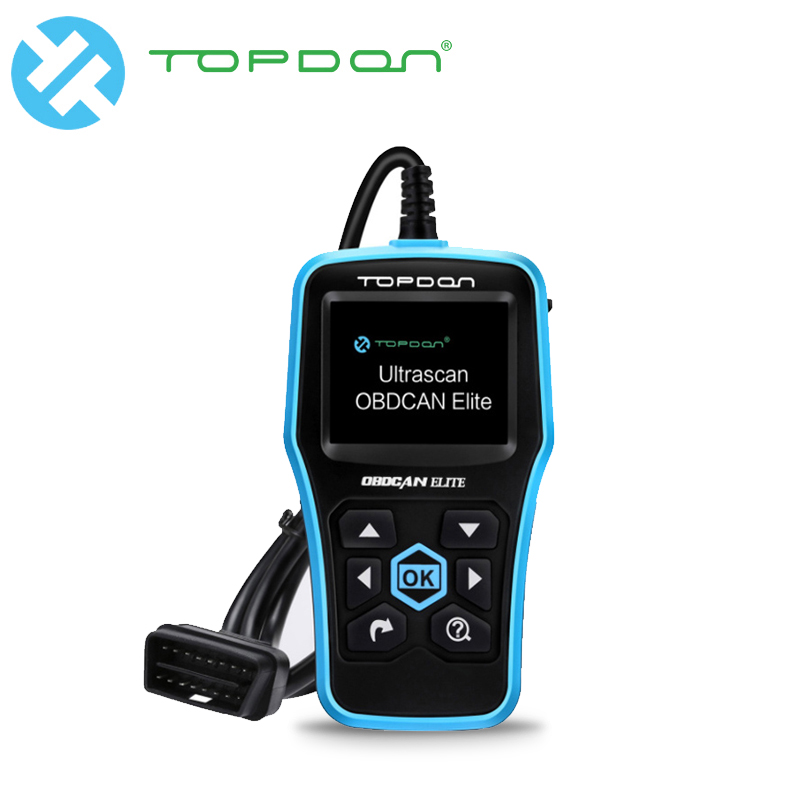 все цены на TOPDON Ultrascan OBDCAN ELITE Diagnostic Tool EOBD ABS SRS Code Reader Scan Tool OBD2 Scanner Car Full OBDII OBD 2 II Function