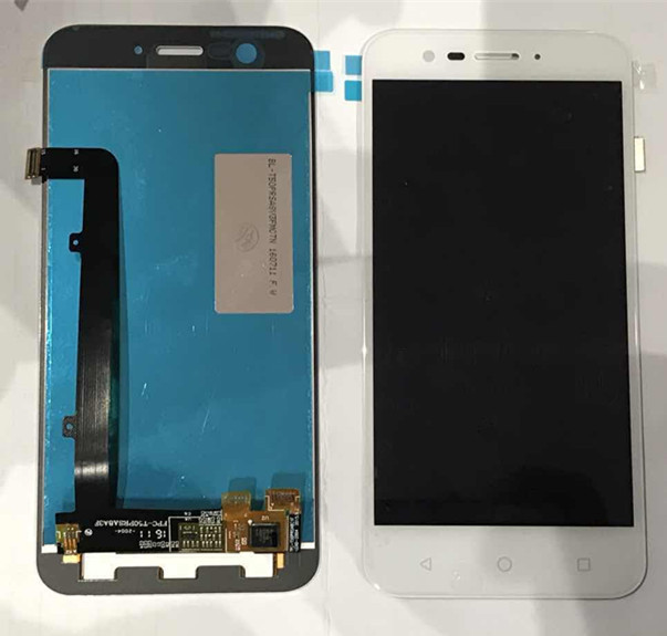 LCD Screen display+touch Digitizer For Vodafone Smart Prime 7 VFD600 black /white color free shipping