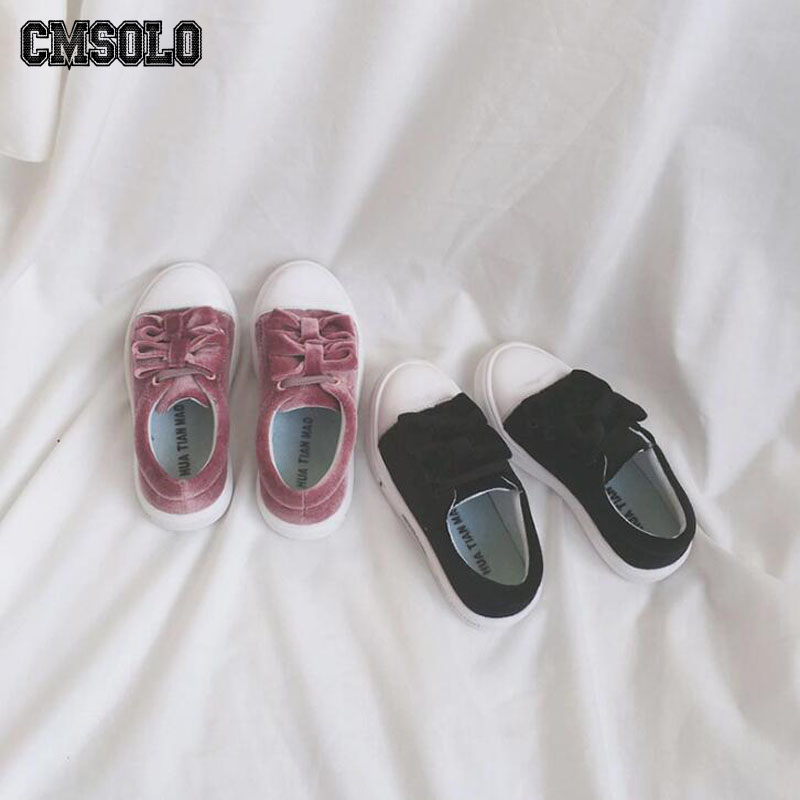 CMSOLO Velvet Fashion Sneakers Winter Autumn Boys Girls