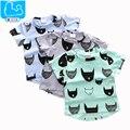 Boys Summer Casual Clothes Children Girls Short Sleeve Cartoon Tee Shirt 2016 Boys T-Shirts for Kids Baby Boys Tops Tees