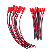 Hight Quality 10 Pairs 150mm JST Male Female Connector Plug for RC Lipo font b Battery