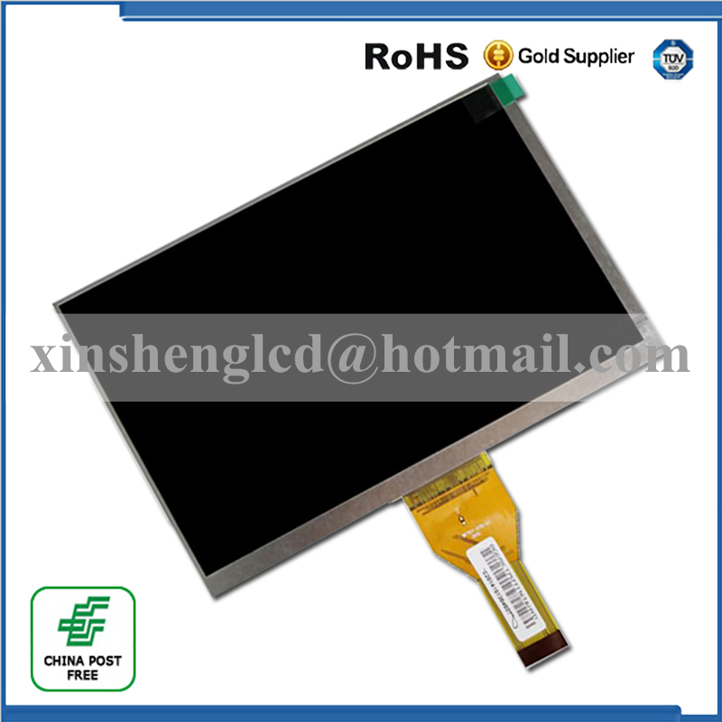 New LCD Display Matrix For 7 TABLET YQL070DMP-IPS-L LCD Screen Panel Lens Frame Module replacement Free Shipping new lcd display matrix 7 trekstor surftab wintrom 7 0 tablet 1024x600 lcd screen panel lens frame replacement free shipping