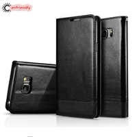 For Samsung S6 Case Leather Magnetic Flip Wallet Case Cover For Samsung Galaxy S6 S 6 Edge S6edge Phone With Card Cover Coque