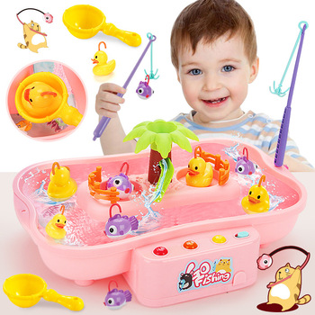 19.5*22*32cm Fishing Toys For Kids Rotating Fish Game Plastic Parent-Child Interactive Table Games Hand-Eye Coordination Toys shark bite game funny toys desktop fishing toys kids family interactive toys board game
