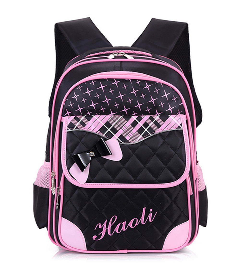 Light Children School Bags For Girls Orthopedic kids