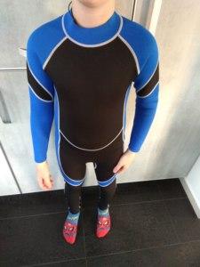 Image 2 - Nowy neomotion neoprenowy kombinezon do nurkowania łowiectwo podwodne pianka do nurkowania sprzęt do nurkowania Surf Spear Fishing Wetsuit dla dzieci