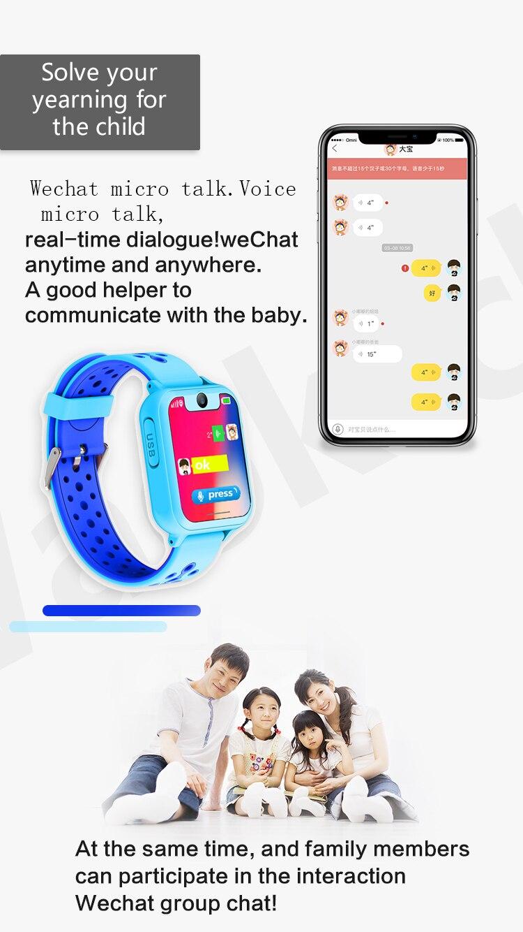 localização crianças crianças relógio inteligente bebê para ios & android