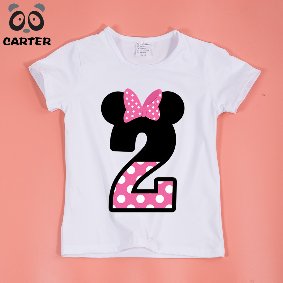 Birthday T Shirts Toddlers
