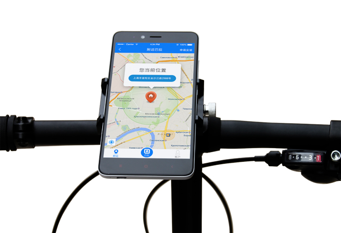 GUB Universal bike phone holder Cycling Bicycle adjustable phone mount holder on bike for phone 6s