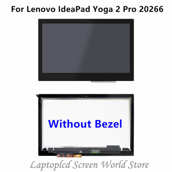 FTDLCD 13.3'' QHD LCD TouchScreen Display with Bezel Assembly For Lenovo IdeaPad Yoga 2 Pro 20266 3200x1800
